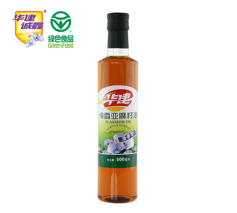纯香亚麻籽油500ml