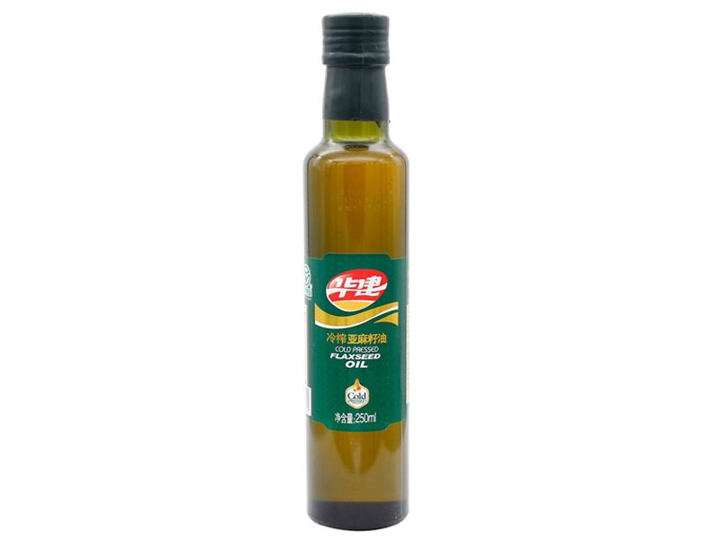 冷榨亚麻籽油250ml