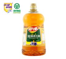 华建压榨一级亚麻籽油5L
