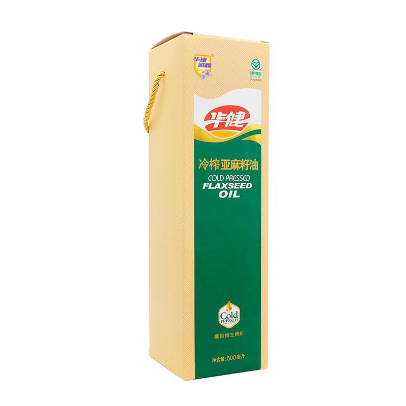 冷榨亚麻籽油500ml